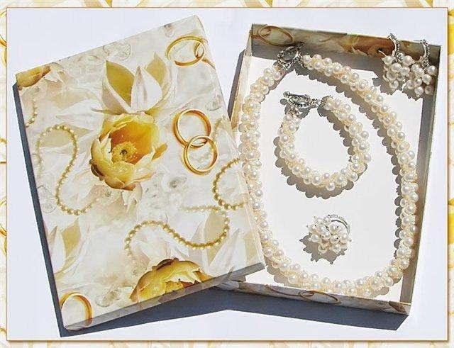 Подарки для мужа на жемчужную свадьбу