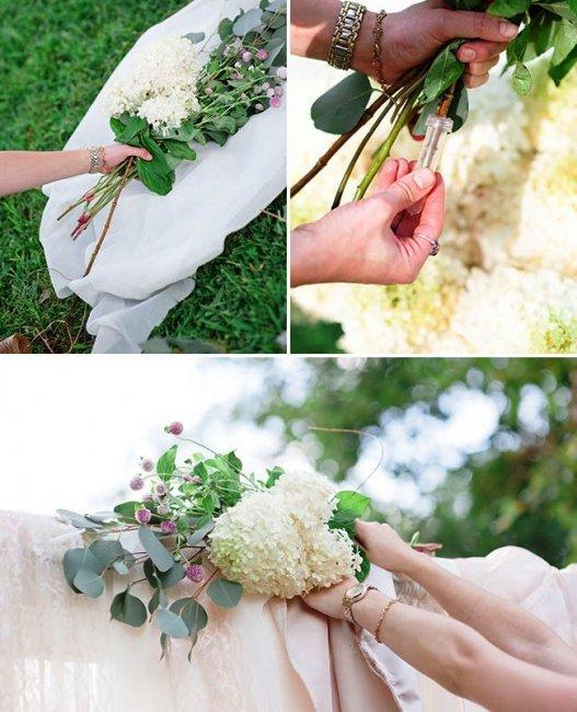 Сформируйте букеты из цветов