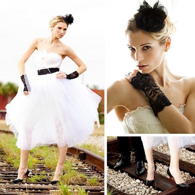 Образ невесты для свадьбы в стиле рок