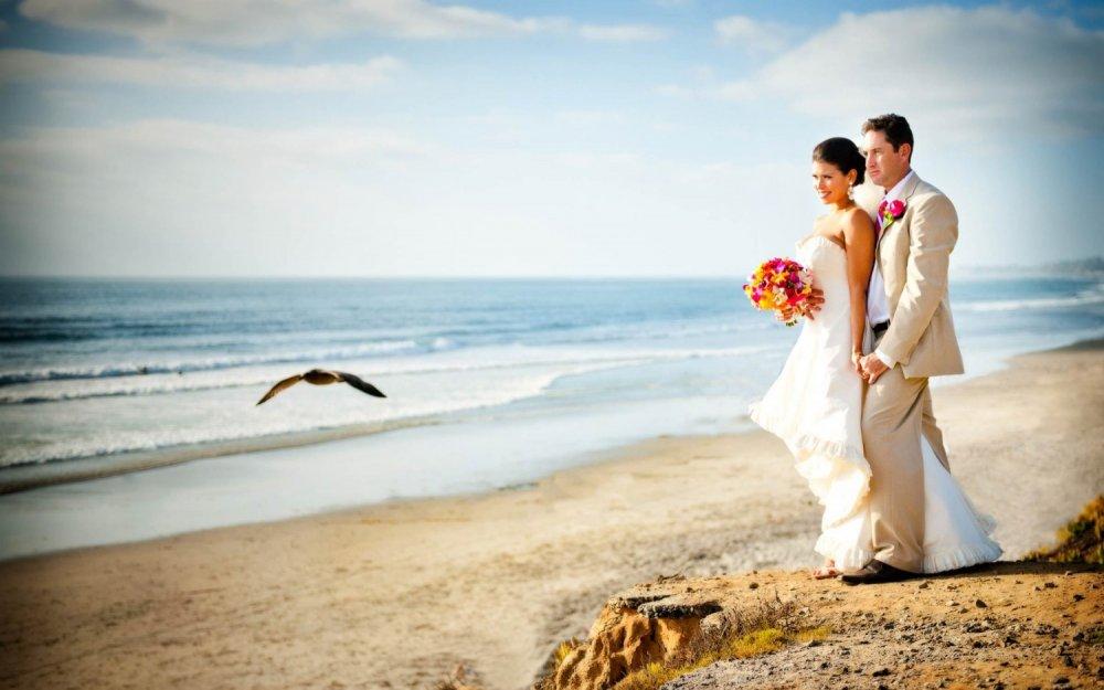 Восхитительная фотосессия на пляже