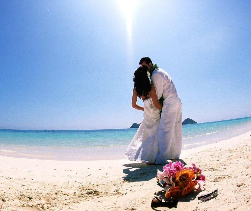 Красивое фото на пляже