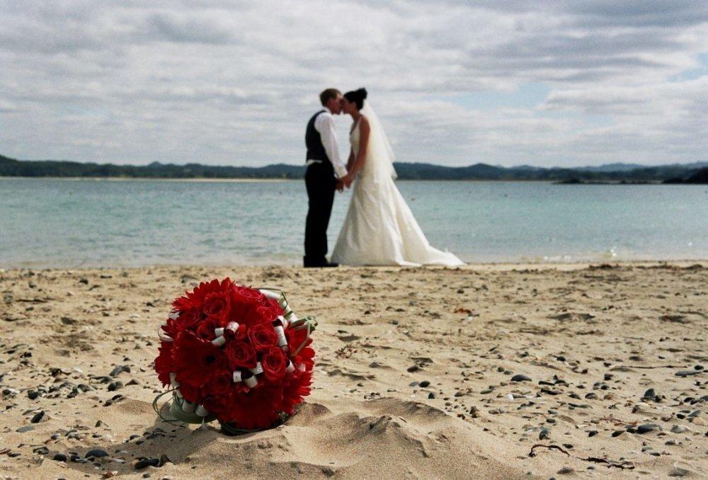 Оригинальное фото на пляже