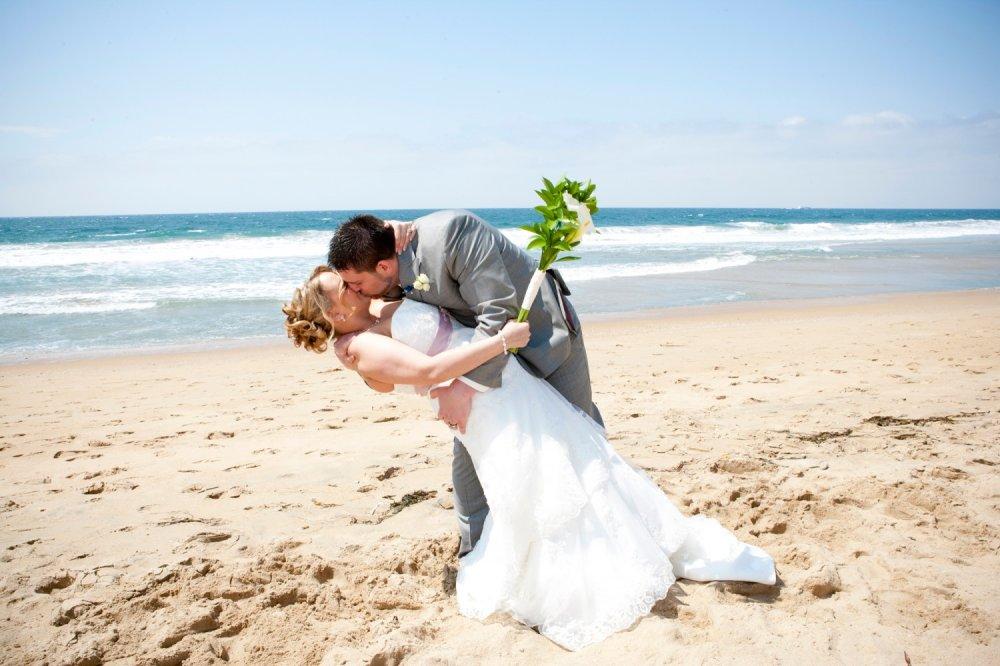 Поцелуй на пляже