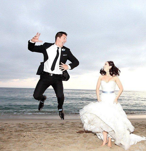 Смешное фото на пляже