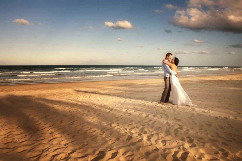Роскошная фотосессия на пляже