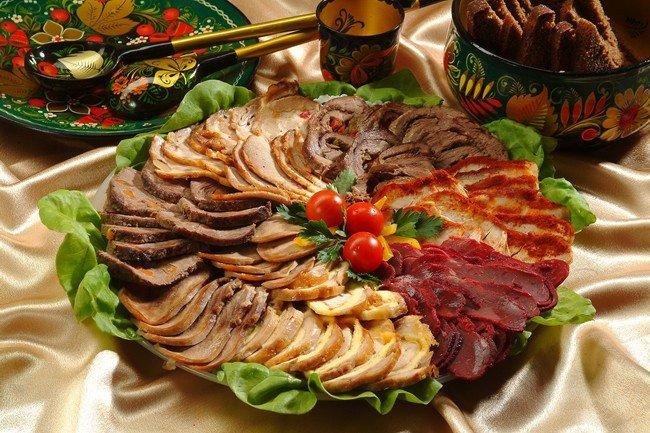 Рецепты на свадьбу из мяса
