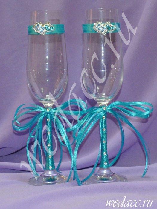 Фото свадебные бокалы своими руками фото пошагово