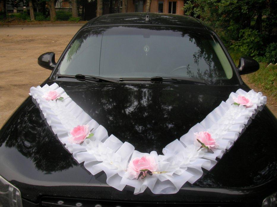 Сетка на свадебную машину своими руками 78