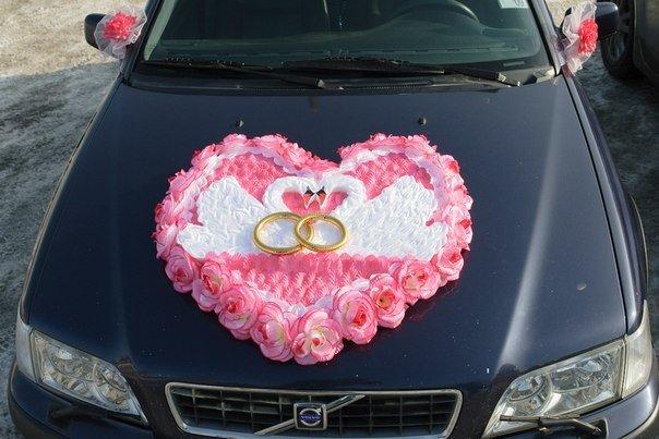 Украшения свадебных машин мастер класс 111