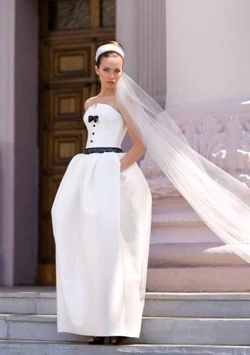 Стильное свадебное платье