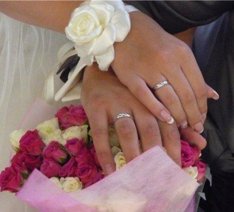 Свадебное украшение на руку невесты своими руками