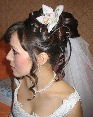 свадебные прически в разных странах