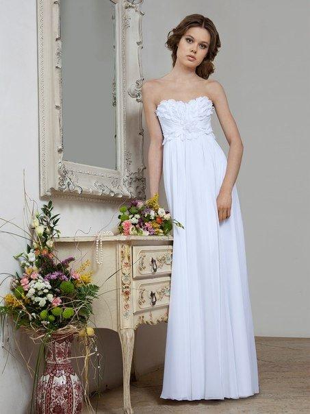 Платье в средиземноморском стиле