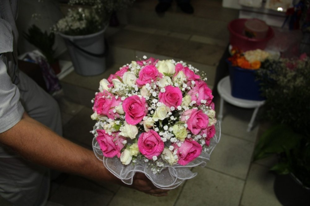 Фото свадебных букетов для невесты из живых цветов