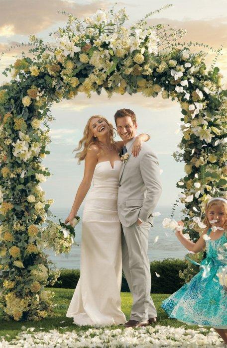 Сколько стоит цветочная арка для свадьбы