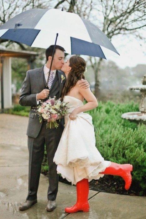 Если на свадьбу дождь