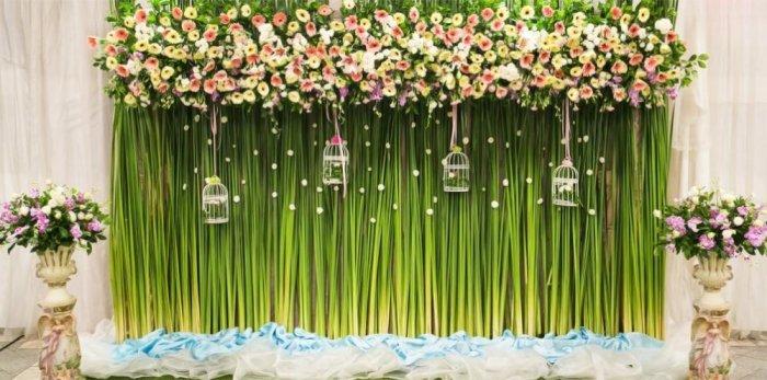 Свадебные фотозоны в помещении