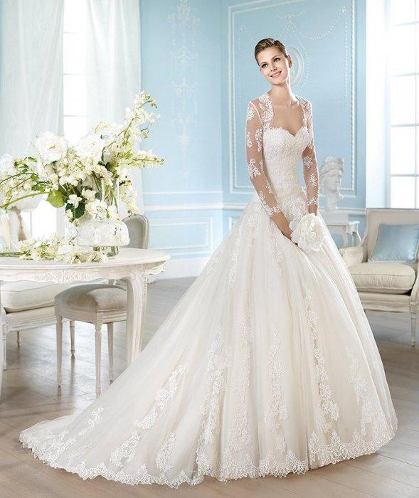Свадебные платья. san patrick