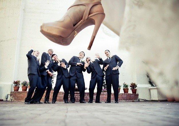 Топ-10 веселых идей для свадебной фотосессии