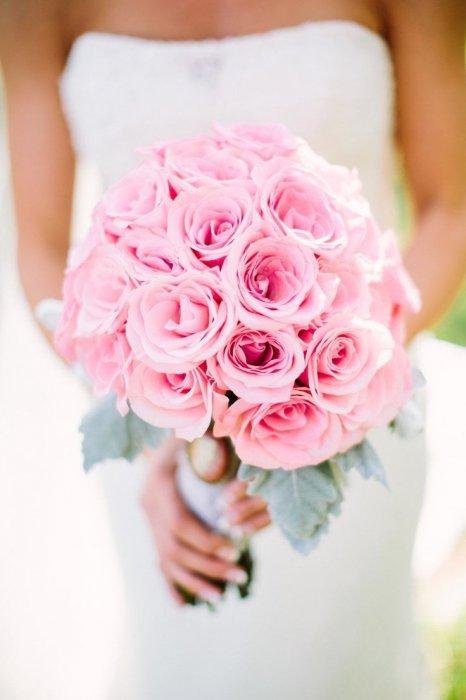 Букеты из розовых роз фото красивые