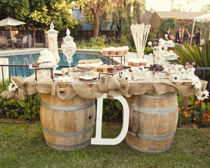 Бюджетные идеи для свадебного бара