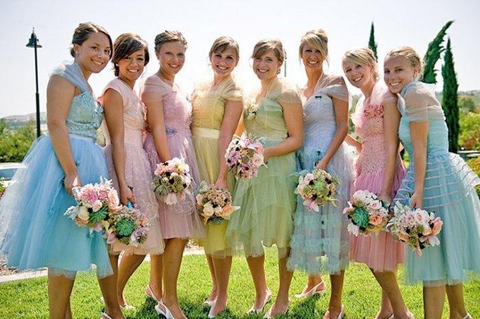 Как правильно выбирать платье подружки невесты  351fcb709a653