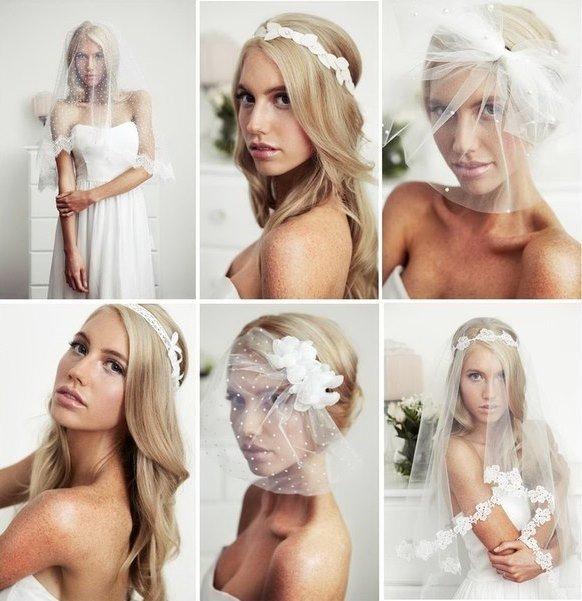 Топ-3 аксессуаров для невесты вместо фаты