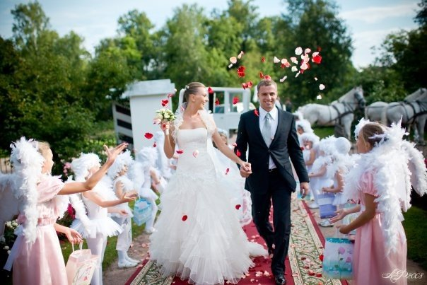 Церемония бракосочетания
