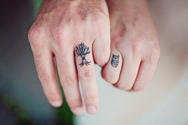 тату символ любви фото