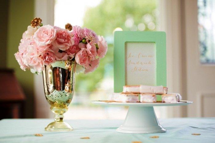 Розово мятные картинки