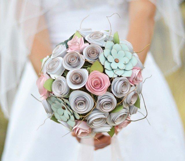 Свадебный букет не из цветов, магазина цветов