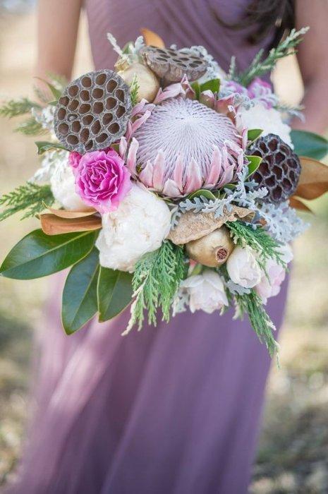 Свадебный букет из лотосов фото, букеты сургут