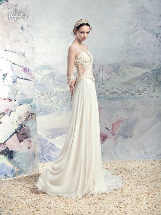 Свадебные платья коллекции папилио