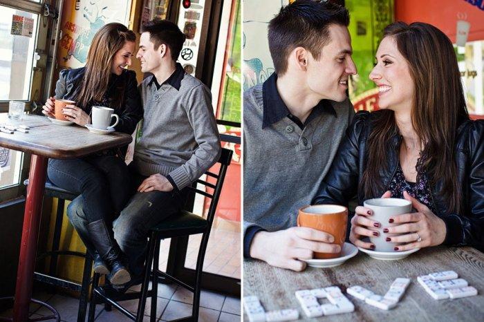 фотографии в кафе позы пары являются опасными