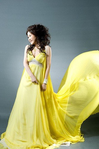 Желтое свадебное платье примета