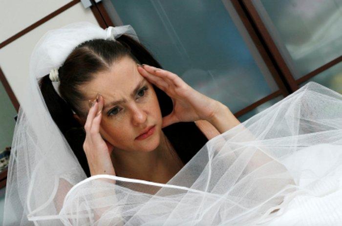 Перед свадьбой волнение