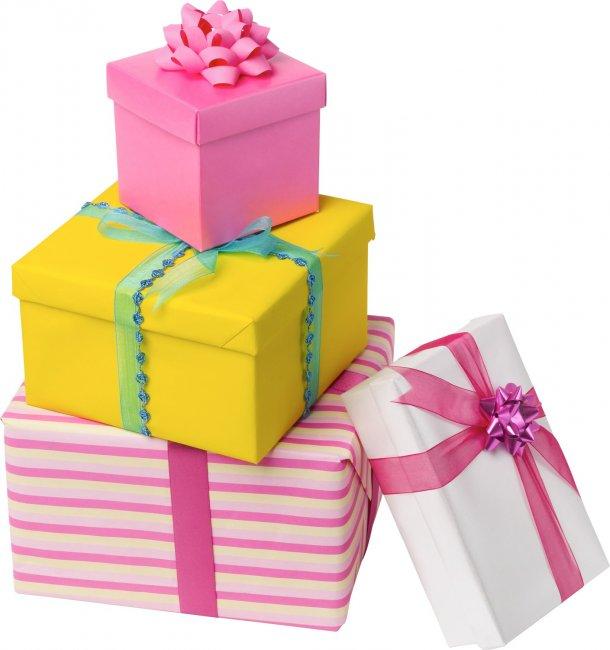 Вручение свадебных подарков