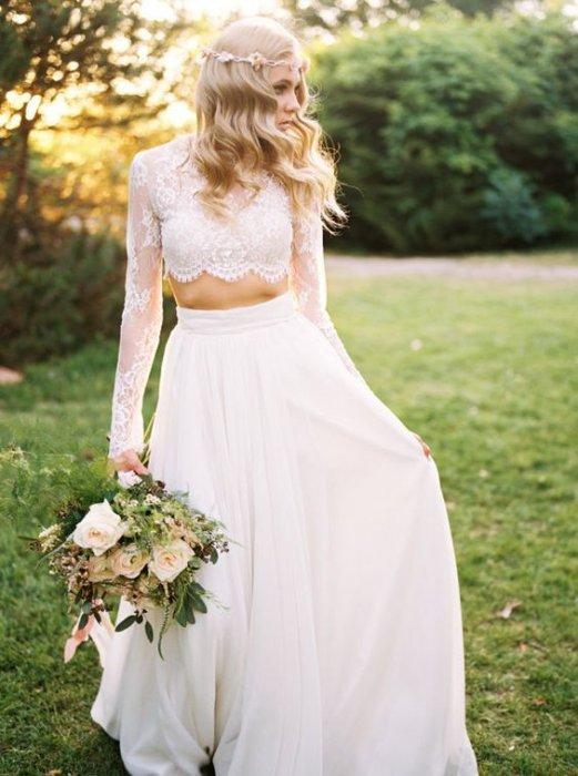 Свадебное платье отдельно юбка и топ
