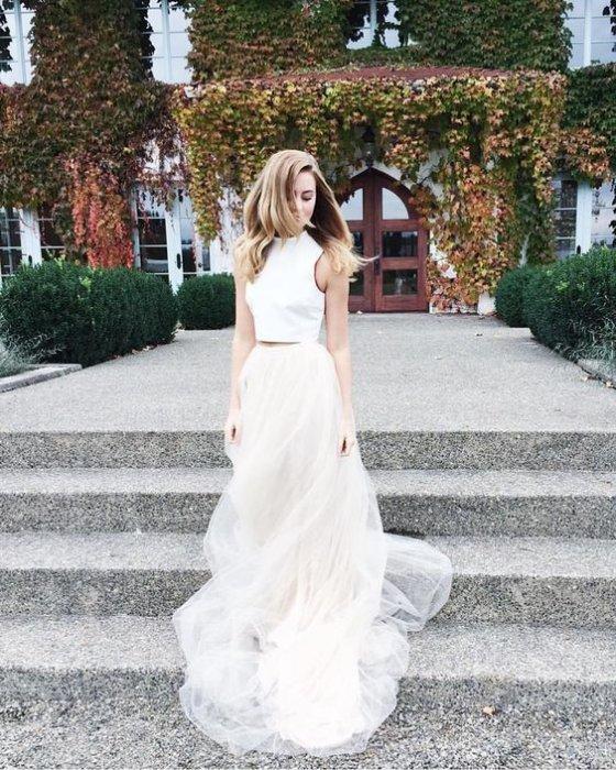 Свадебный топ и юбка купить спб