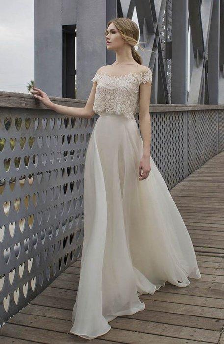 Свадебное платье топ и юбка купить