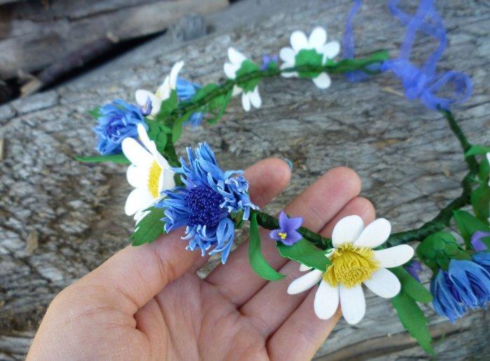 Полевые цветы ручной работы