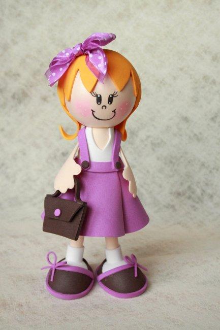 Кукла из фоама
