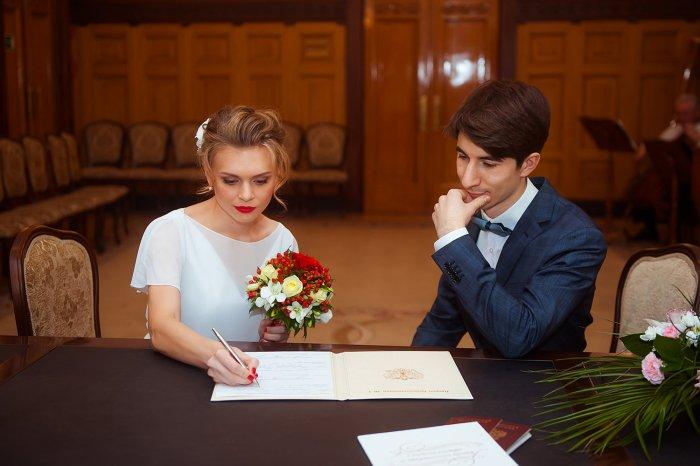 фото неторжественная регистрация брака в загсе