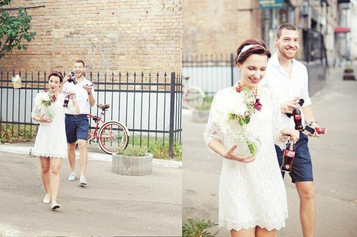 Белое платье для регистрации брака