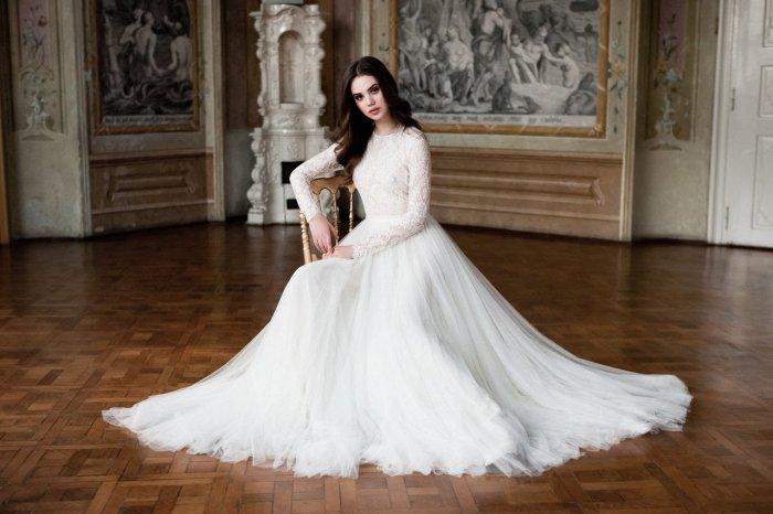 b9901cd41d5 Закрытые свадебные платья  фото моделей и особенности выбора