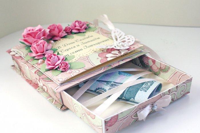 Милая коробочка для денег