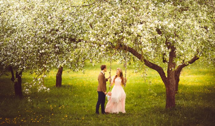 5 годовщина - деревянная свадьба