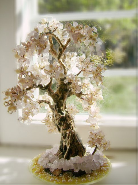 Символическое дерево счастья в подарок на свадьбу