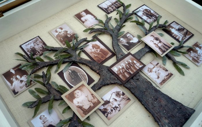 Генеалогическое древо в подарок на 5 годовщину свадьбы