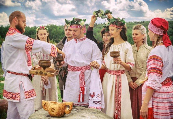 Славянская свадьба на 5 годовщину
